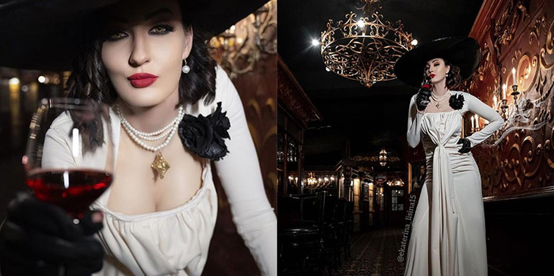 lady dimitrescu cosplay ekaterina lisina