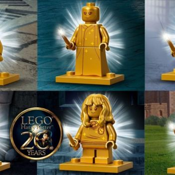 lego harry potter minifigure oro