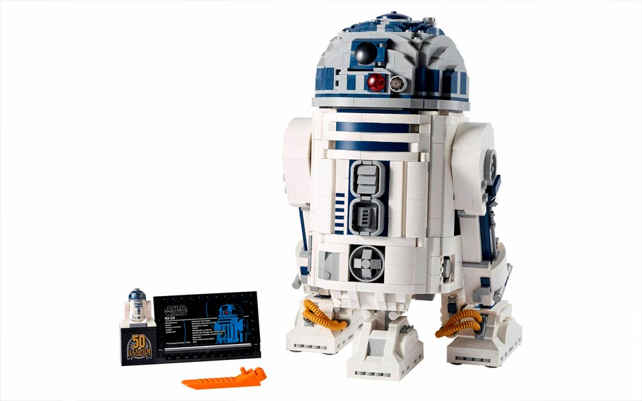 nuovo set lego star wars r2 d2