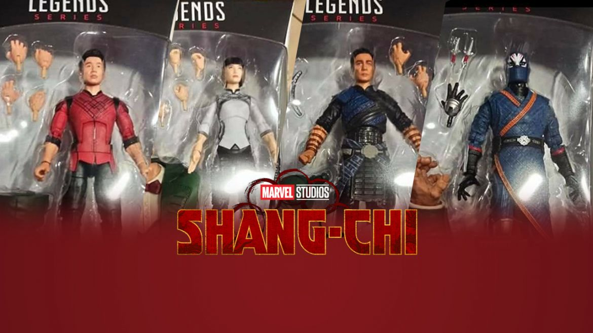 shang chi costumi action figure