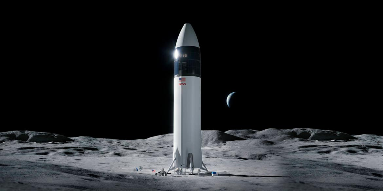 sistema allunaggio programma Artemis