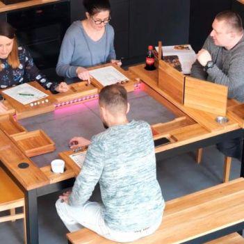 tavolo da gioco geeknson bristol