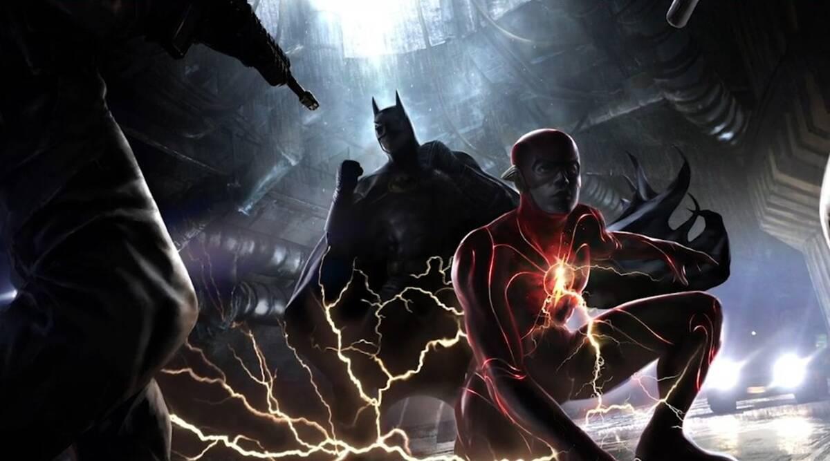 the flash batman concept art