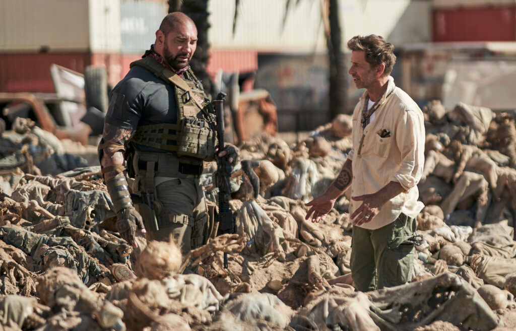Dave Bautista Zack Snyder Army of the Dead