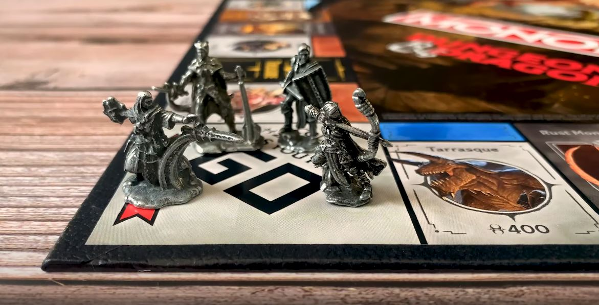 Dungeons Dragons Monopoly