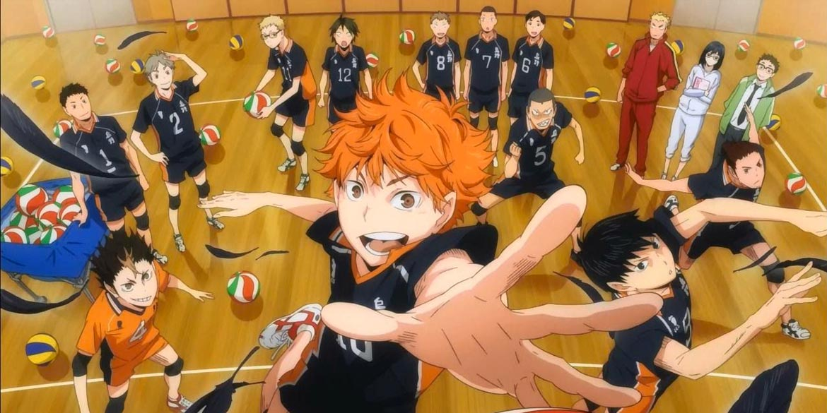 Haikyu asso del volley anime