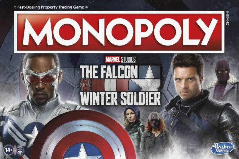 Monopoly Falcon and the Winter Soldier