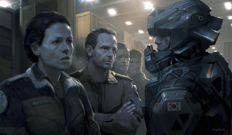 Alien 5 Concept Art 3