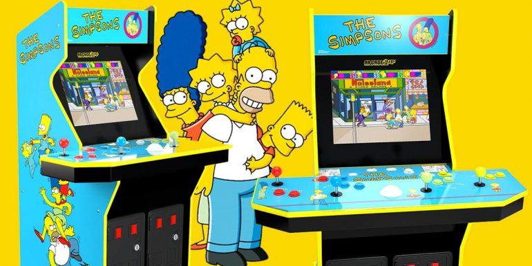 Arcade 1 Up dei Simpson