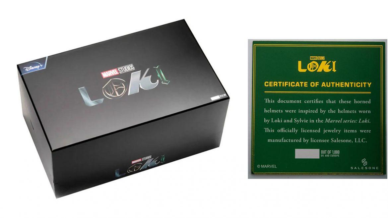Loki elmi repliche box