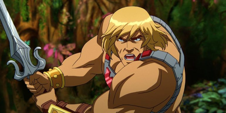 Masters of the Universe Revelation he man
