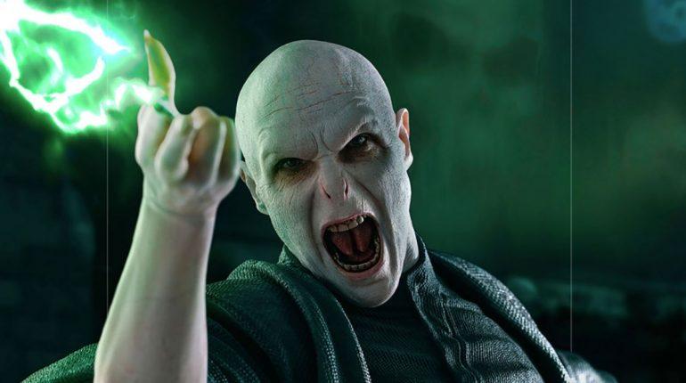 Statua Voldemort Nagini Iron Studio