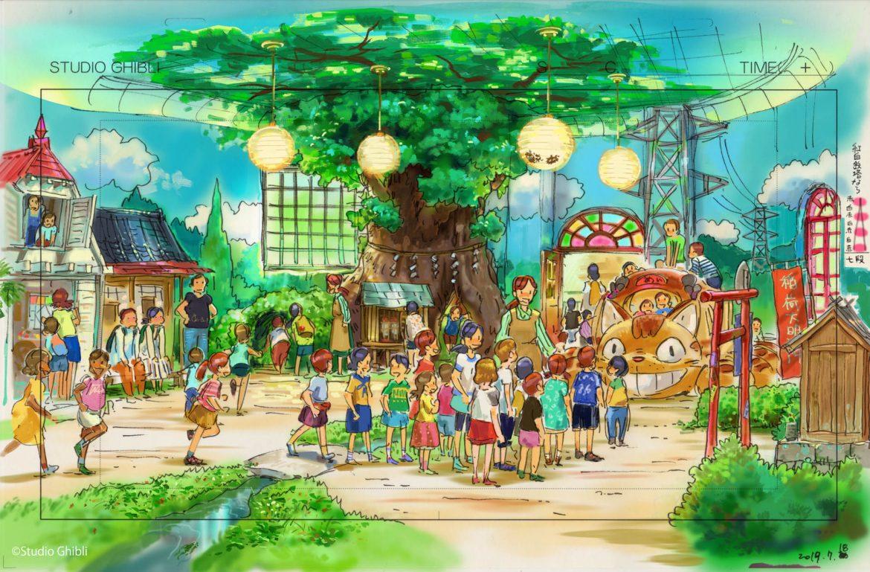 Studio Ghibli parco Totoro