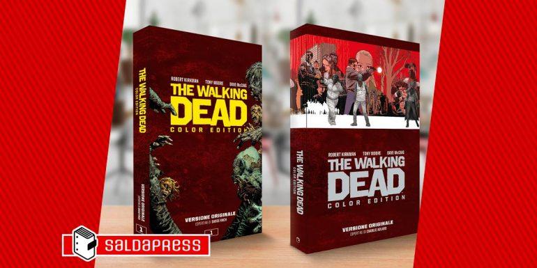 the walking dead color edition slipcase