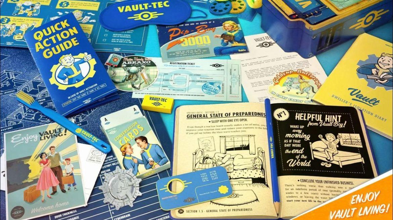 Fallout Welcome Kit dettagli