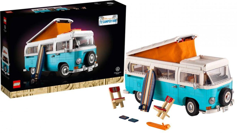 LEGO Volkswagen T2 Camper dettagli