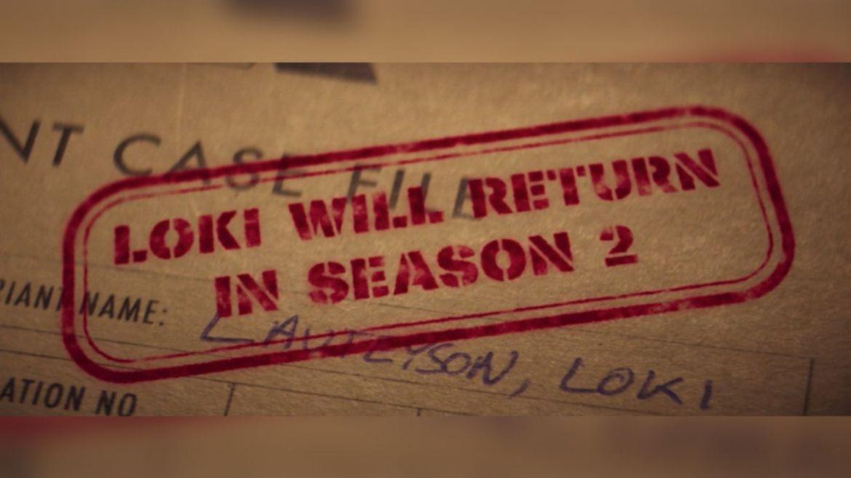 Loki screen season 2 announcement