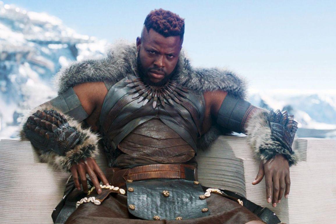Mbaku Winston Duke Black Panther
