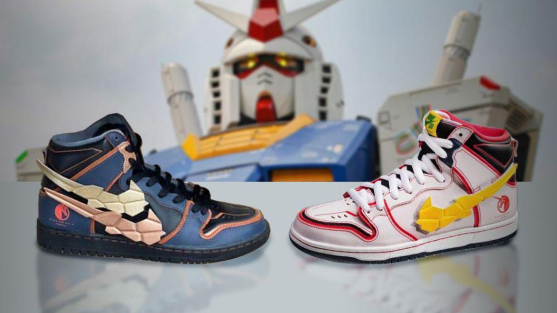 Nike gundam tokyo