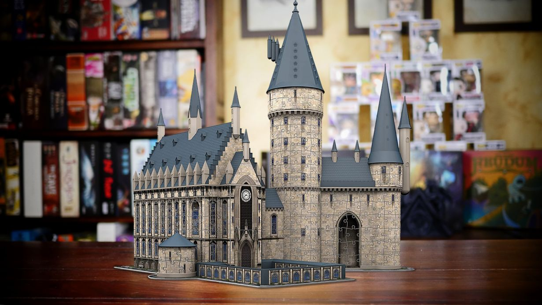 hogwarts 3D ravensburger