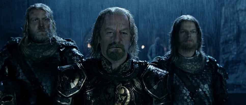 the two theoden towers