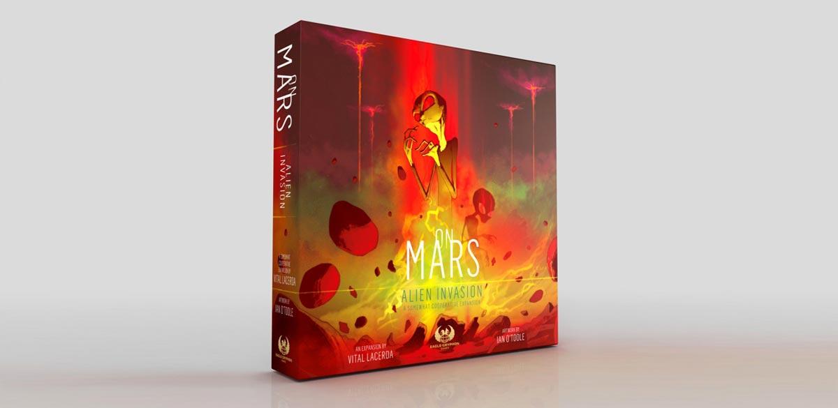 on mars Alien Invasion gioco da tavolo