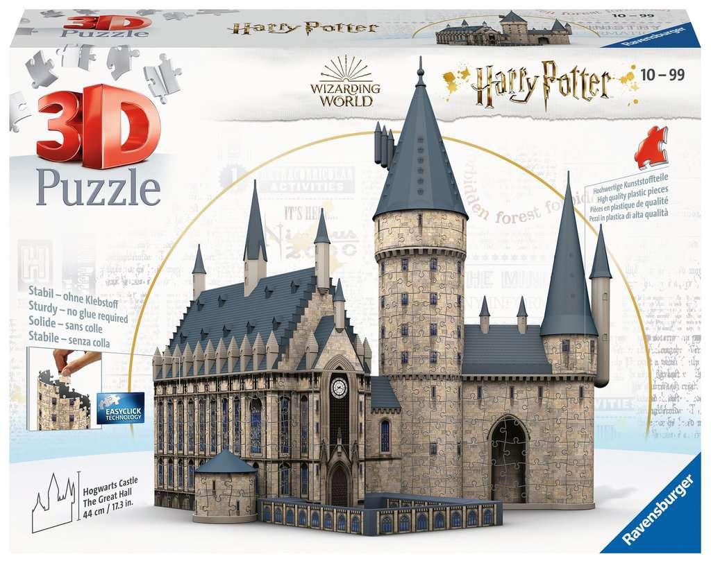 puzzle 3D del Castello di Hogwarts