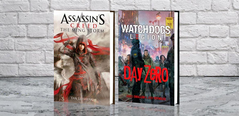 romanzi di Assassins Creed e Watch Dogs