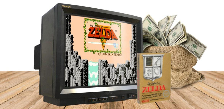 the legend of zelda cartuccia originale cover