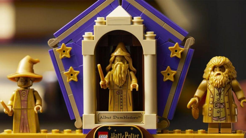 LEGO harry potter minifigure dorate