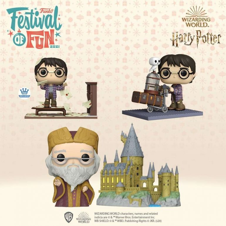 harry potter funko 2021 festival 1
