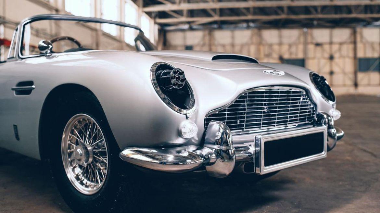 Mini Aston Martin James Bond